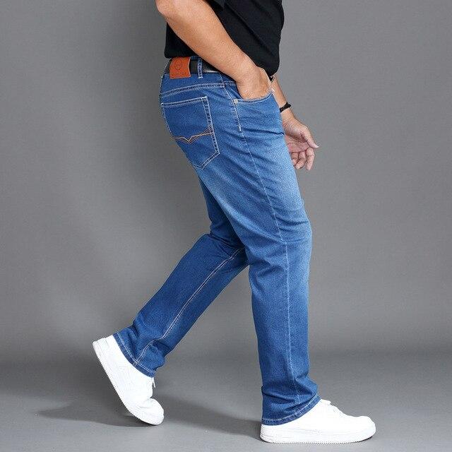 Jeans Men Clothes Modis Homme Pants Brand Mens Ropa De Hombre Jean Uomo Denim Man Slim Fit Blue Stretch Regular Pantalon Plus 46 Lazada Ph