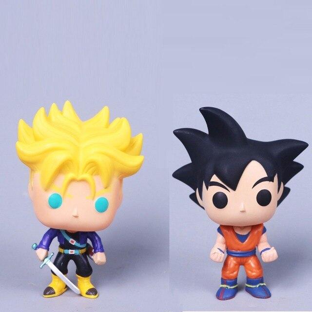 Dragon Ball Goku Pink Son Goku and Blue Goku Action Figure Toy