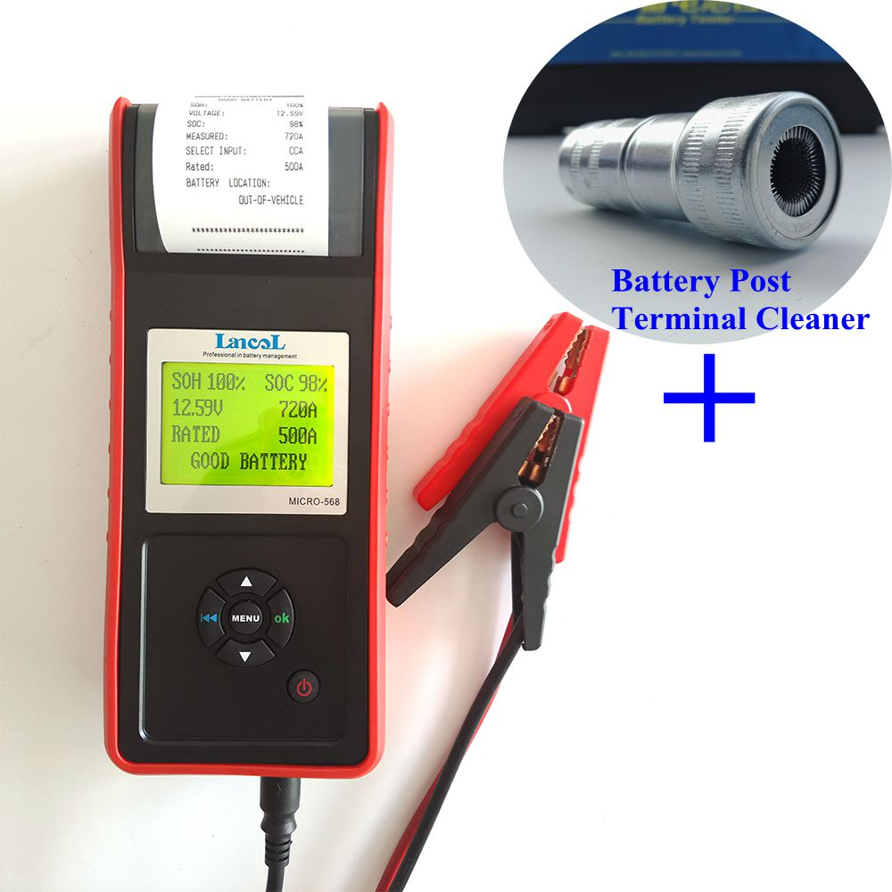 Auto Battery Tester Product : Aliexpress buy lancol v car battery load tester