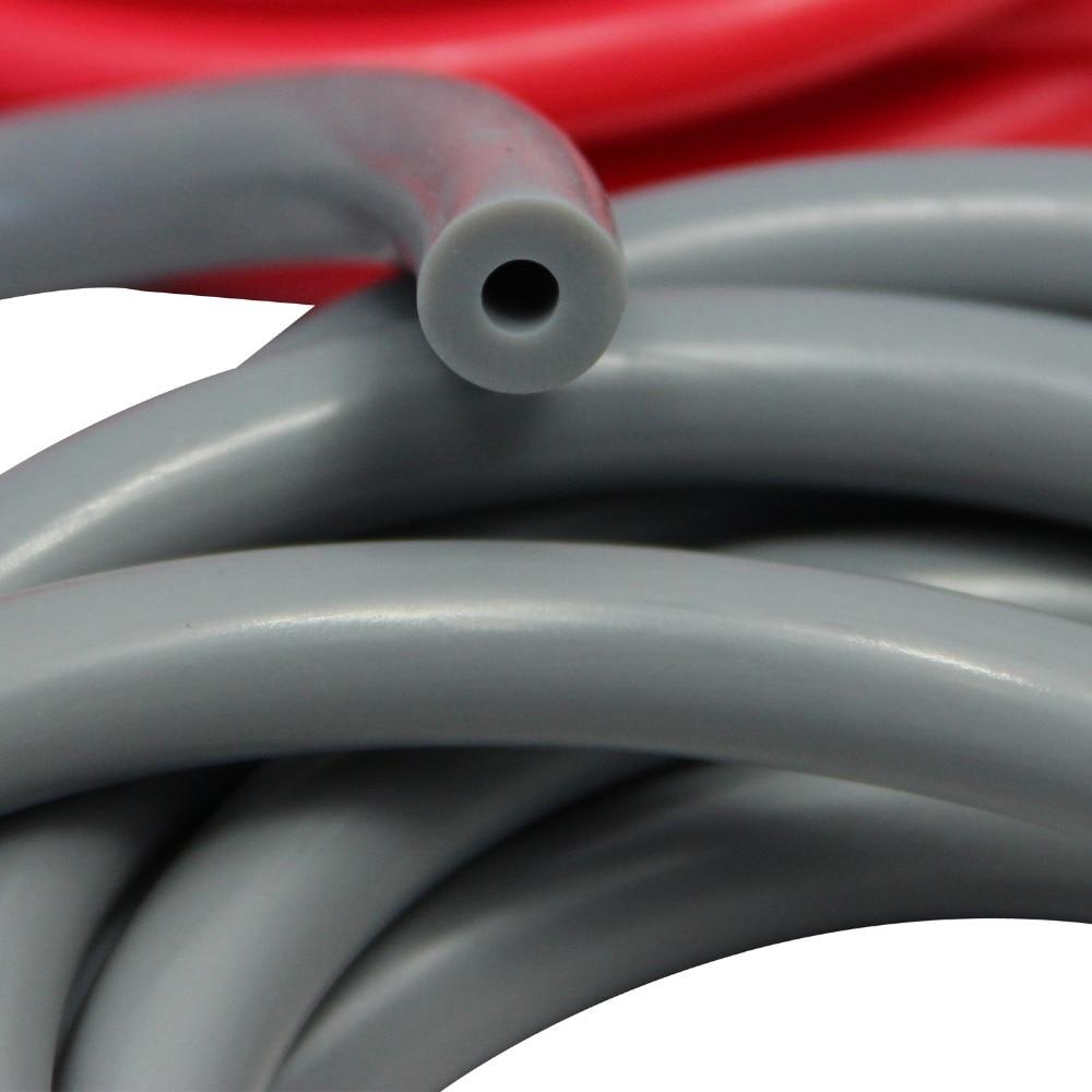 3m elastični večnamenski fitnes pasovi za trening moči siva - Fitnes in bodybuilding - Fotografija 4