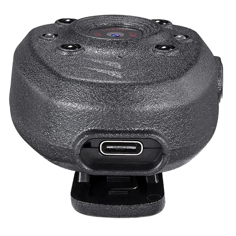 HD 1080P полицейская тела нагрудные носить видео Камера DVR ИК Ночное Видимый светодиодный светильник Cam 4 часа Запись Цифровой Mini DV Регистраторы голос-1 шт