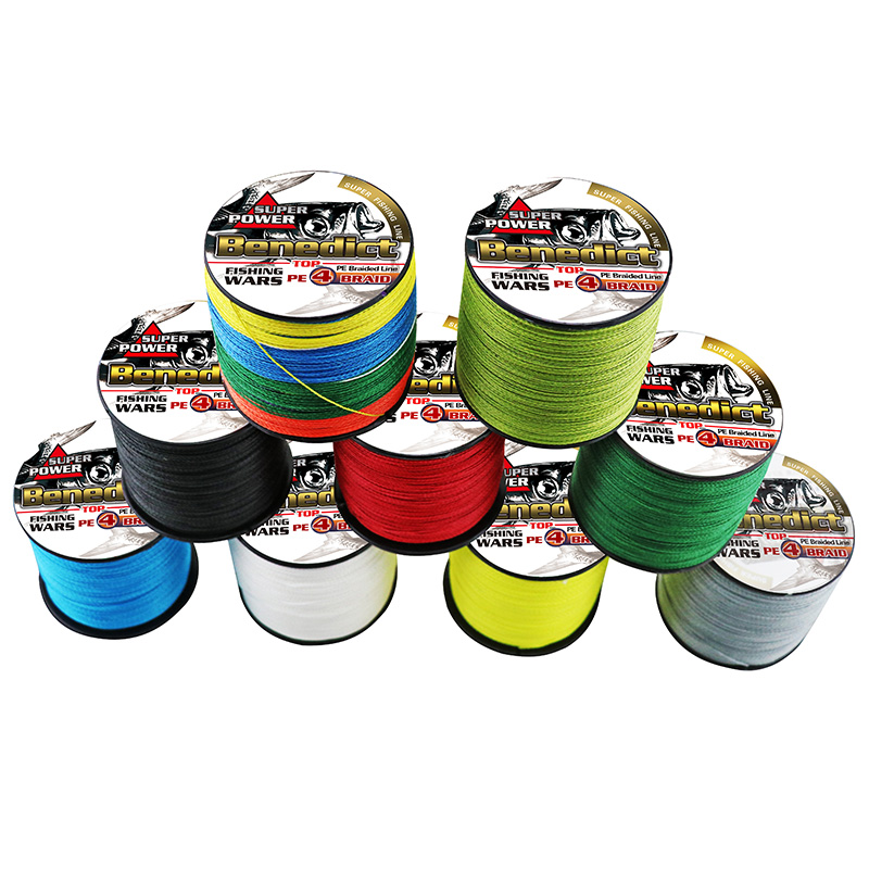 1000M supper Ocean Boat Fishing strong 6LB-100LB for sea fishing tools Pe super fiber braided fishing line 0.1mm-0.55mm thread