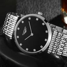 GUANQIN reloj femenino de cuarzo para mujer, reloj femenino de negocios bayan kol saati, de marca de lujo, Unisex, 2020