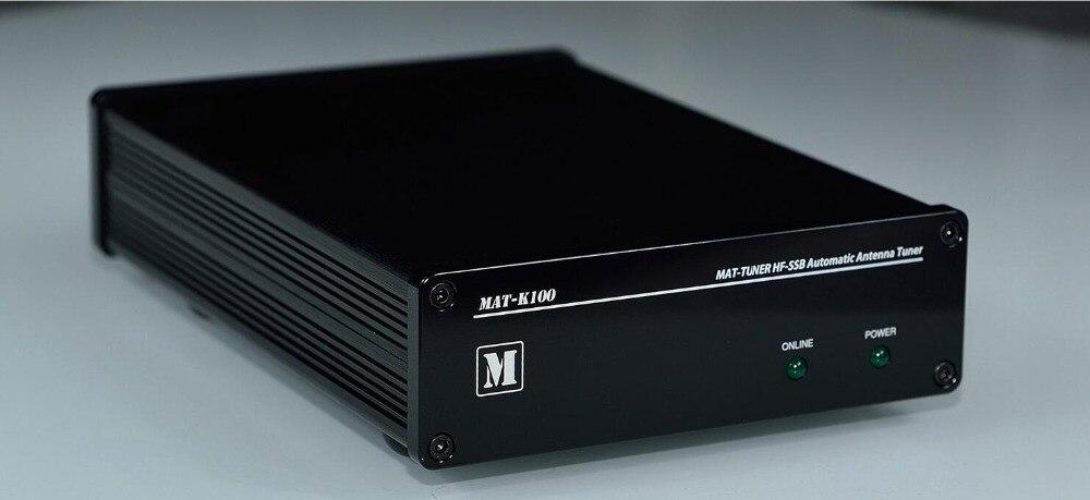 MAT-K100 120 w 3-54 mhz HF-SSB Automatico Antenna Tuner HF Antenna Auto-tuner AUTO TUNER Per KENWOOD ham Radio A-300 A-250