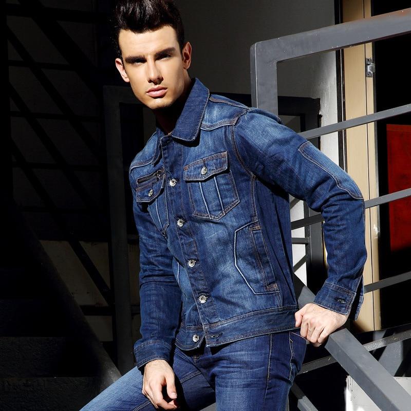 2014 New Autumn European Style Hot Sale Jeans Jacket Men ...