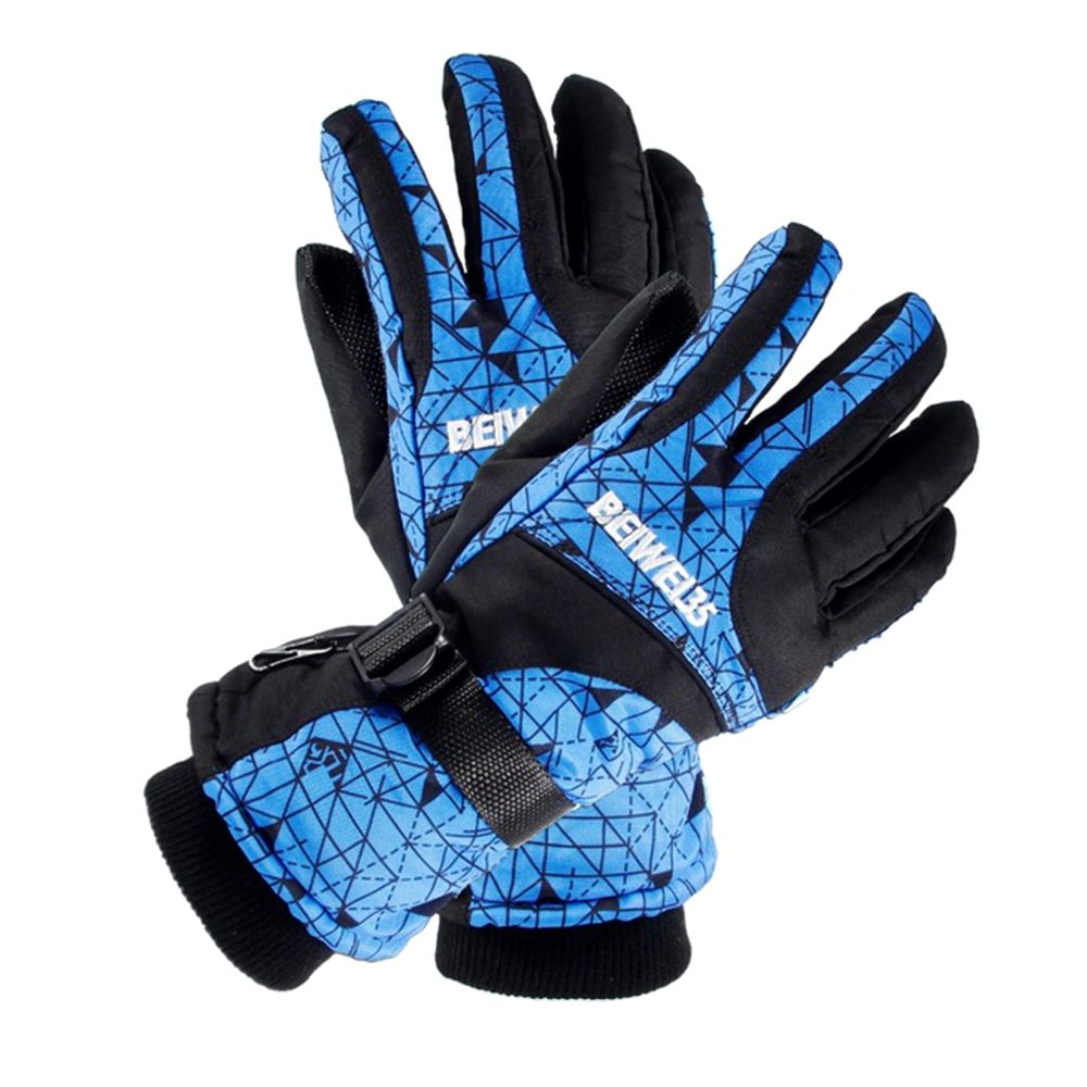 Winter Warm Windproof Ski Gloves Outdoor Sports Comfortable Unisex Snowboard Skiing Gloves 1PC Fashion New Hot Mittens