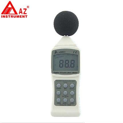 Numérique Sonomètre sonomètre audio portable décibel mètre testeur de bruit AZ8922