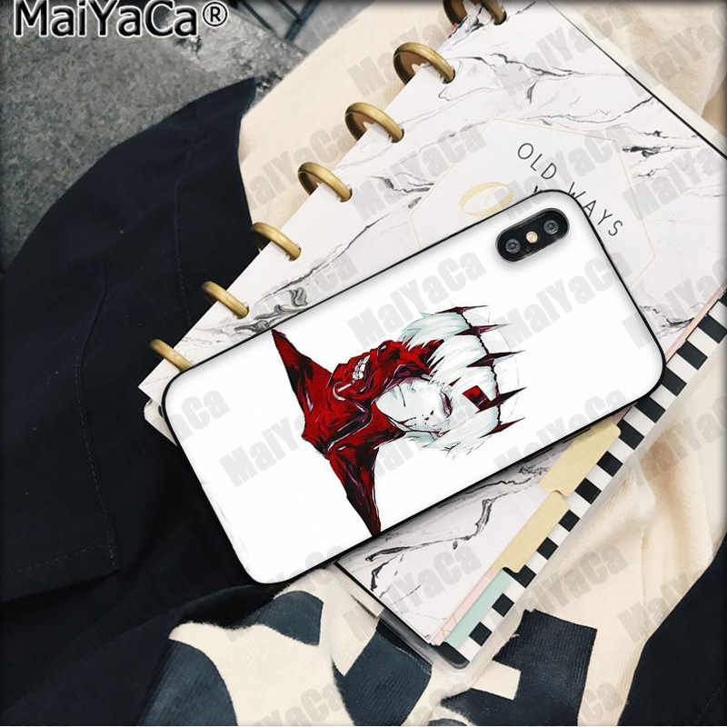 MaiYaCa Tokyo Ghouls Telefoon Ghoul Anime Custom Foto Telefoon Case voor Apple iphone 11 pro 8 7 66S Plus X XS MAX 5S SE XR Cover