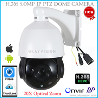 Okayvision New Arrival 4MP 4 Inch Mini Size Network Onvif IP PTZ Speed Dome 20X Optical