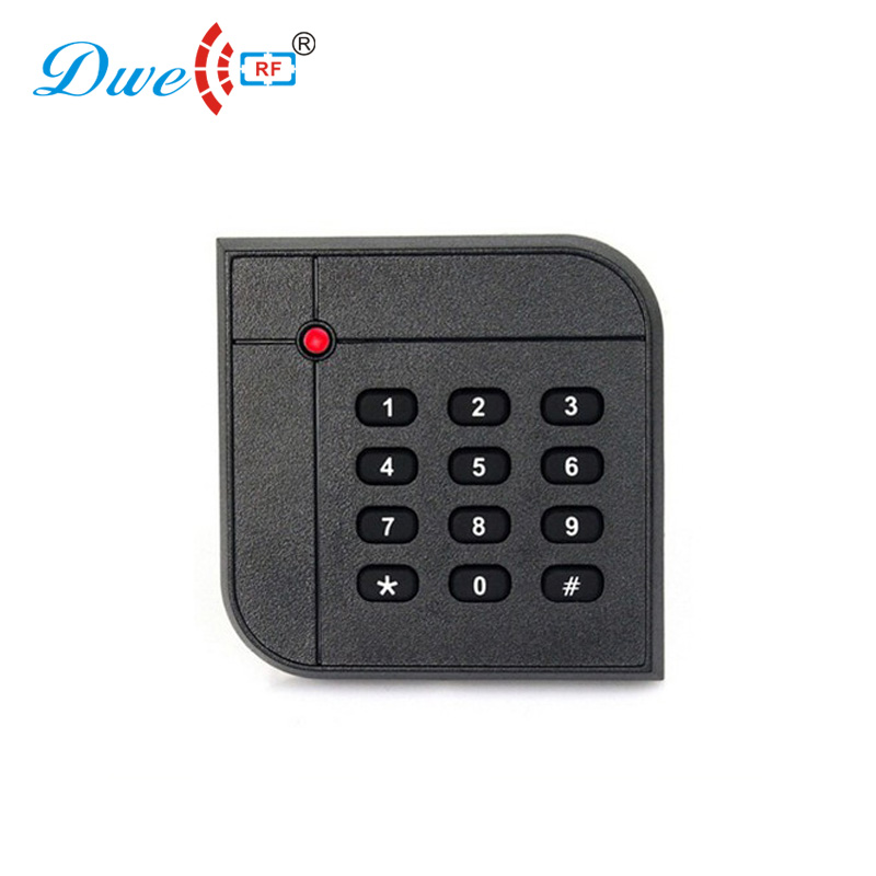 DWE CC RF access control card reader door entry system rfid key readers keyboard smart card reader dwe cc rf access control card reader tcp ip communication door access card reader smart chip card readers with password