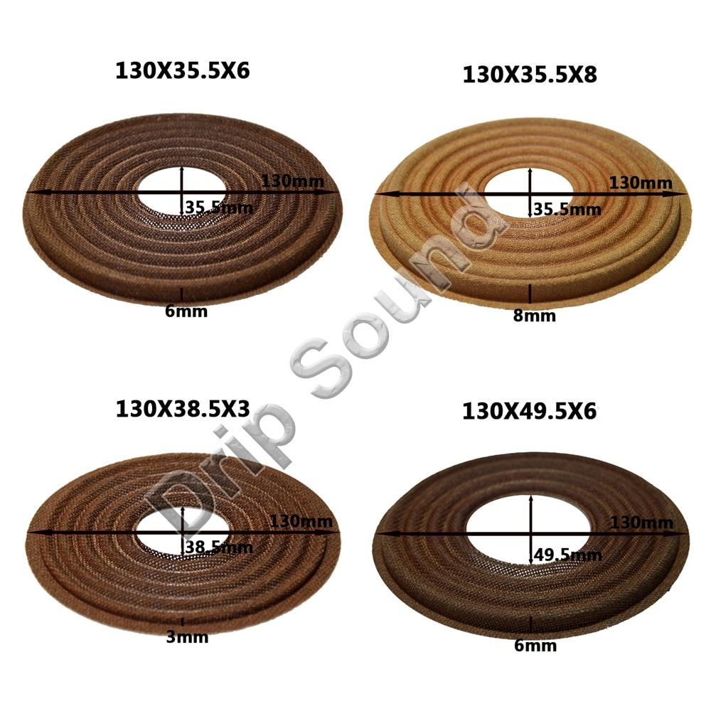 2pcs 130x35.5/130x38.5/130x49.5mm Elastic Wave Loudspeaker Subwoofer Woofer Bass Speaker Repair Spider Damper