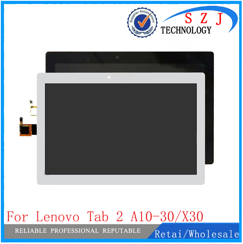 New 10.1 inch tablet case For Lenovo Tab 2 A10-30 YT3-X30 X30F TB2-X30F x30 Replacement LCD Display Touch Screen Panel Assembly new touch screen digitizer replacement for tab 2 a10 30 yt3 x30 x30f tb2 x30f x30 a6500 black white free shipping