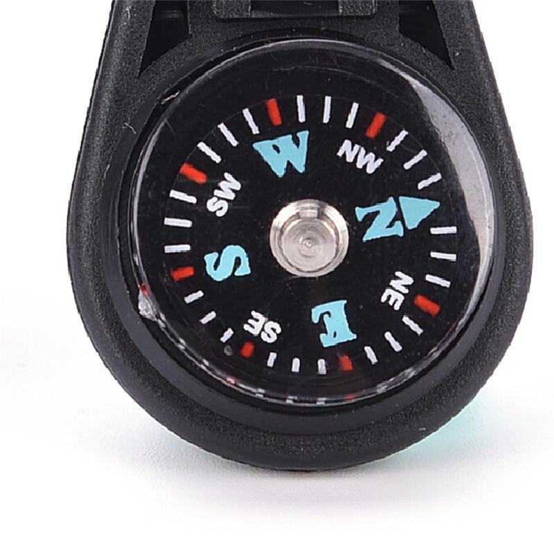 Тактический мини-брелок кемпинг компас охотничий Hiker навигатор страйкбольный походный Кемпинг Открытый аварийный инструмент для выживани...