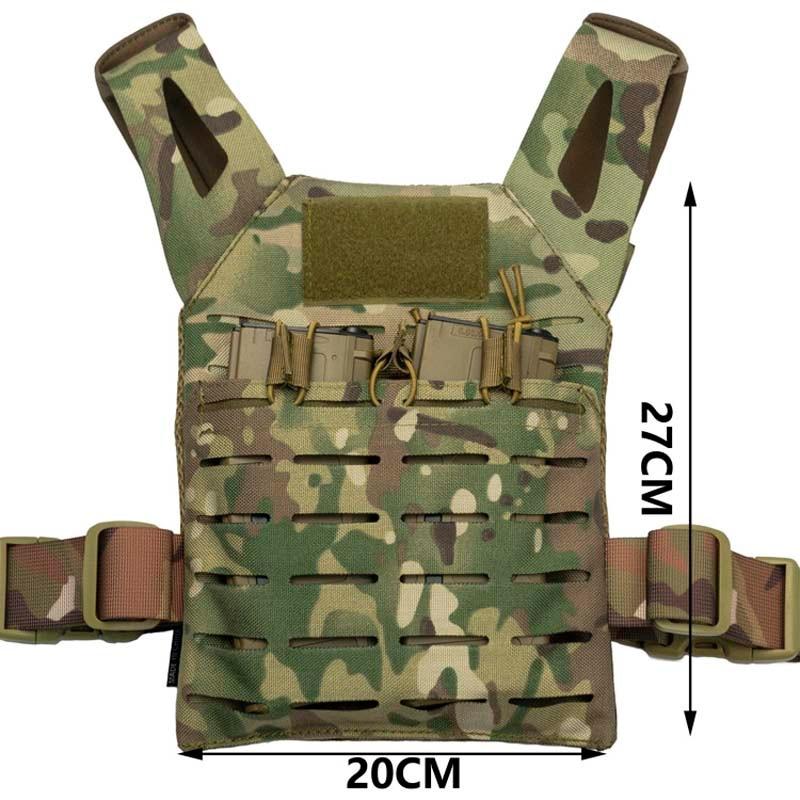 Tactical Kids Children Mini Molle Jump Plate Carrier JPC Vest Outdoor Lightweight Vest
