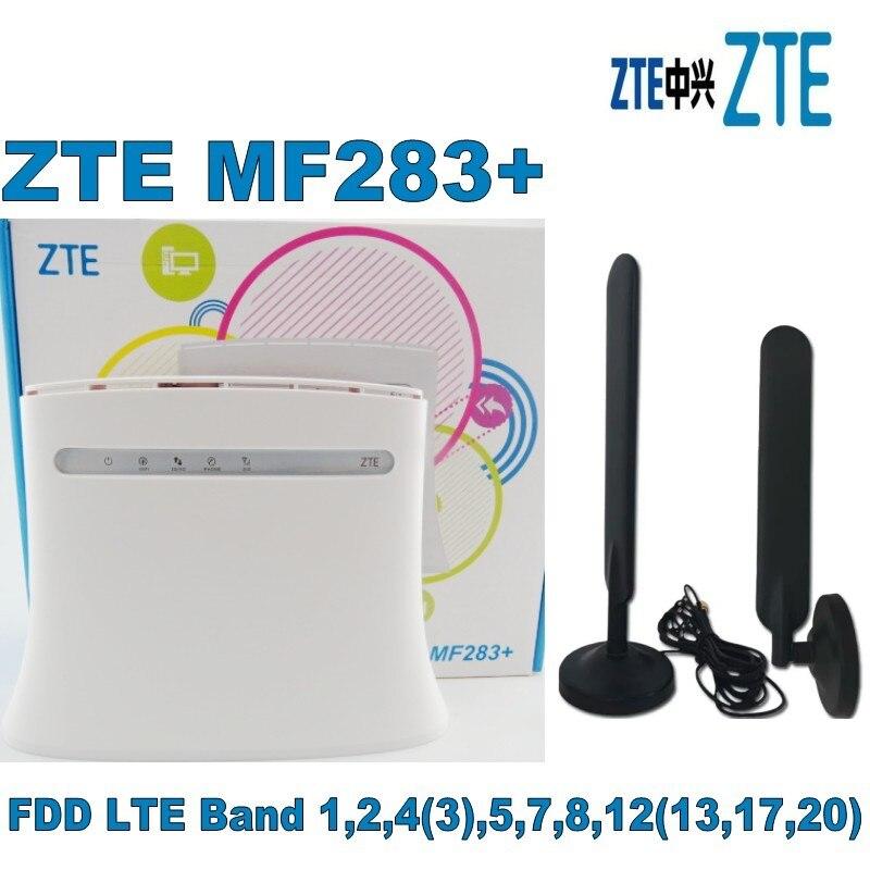 Zte MF283 + cpe routeur 100 M Ipv6 plus 2 pcs 4g antenne