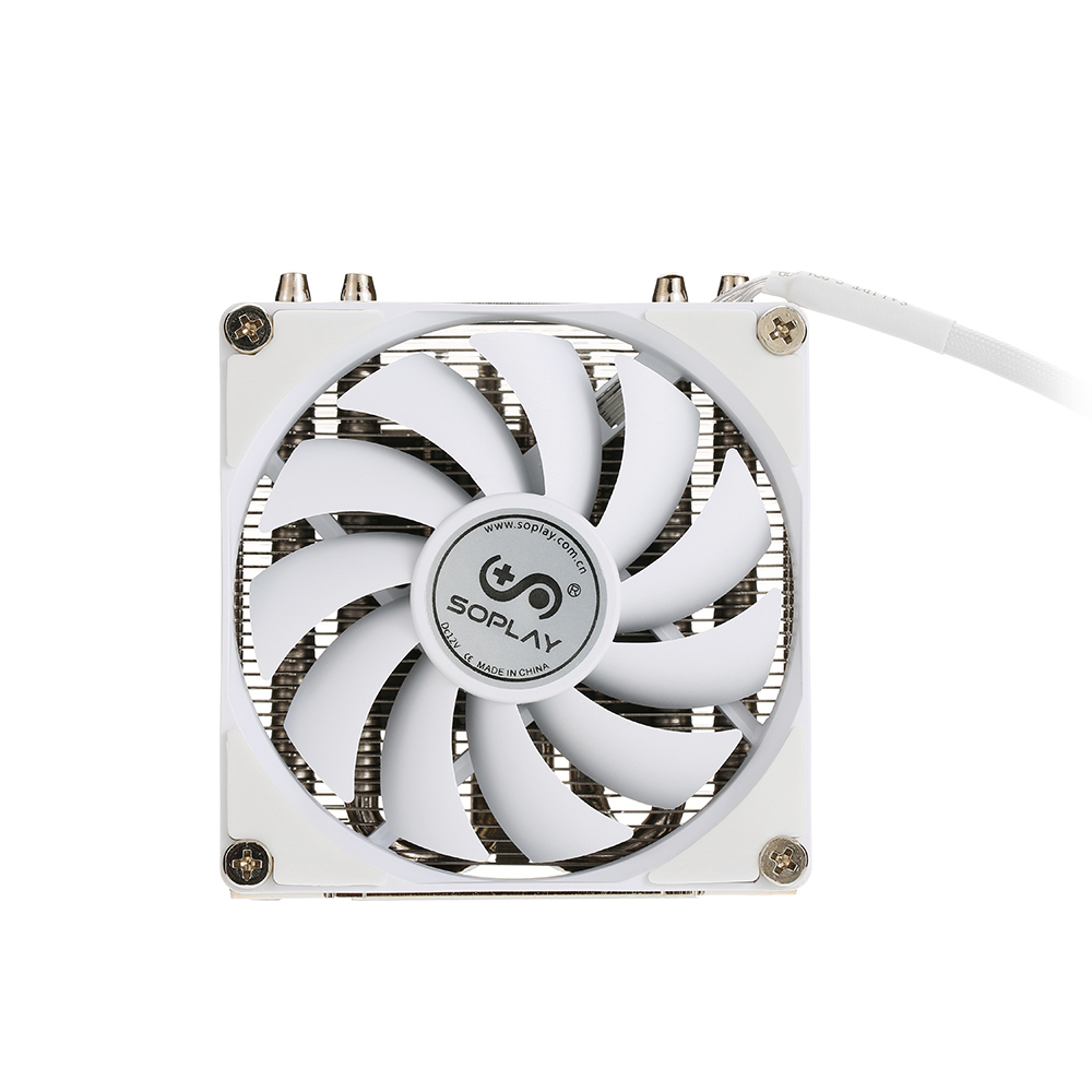 Original SOPLAY for AMD All Series Intel LGA 115X CPU Cooler 4 Heatpipes 4pin 9.2cm PWM Fan PC Computer CPU Cooling Radiator Fan slv спот slv kalu floor 147296