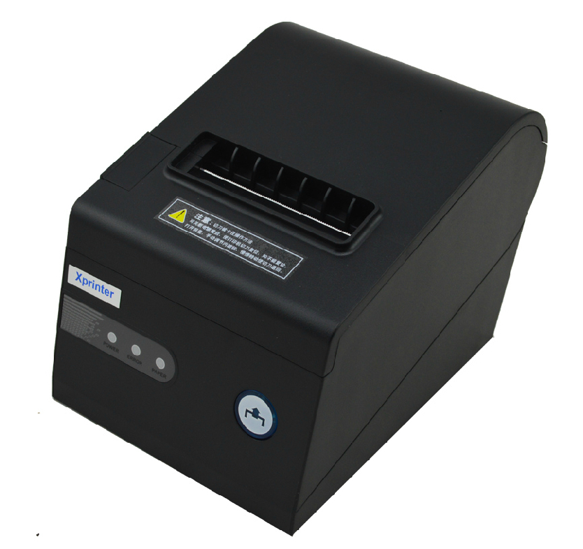 80mm Thermal Receipt Printer USB Auto-cutter Support barcode and multilingual print POS terminal XP230