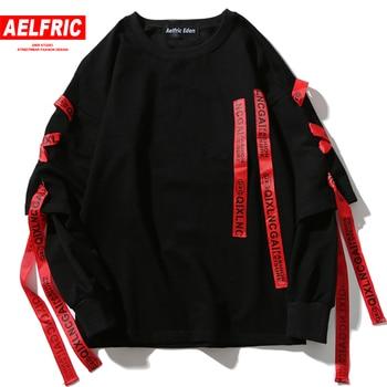 Autumn Hoodies Sweatshirts Men Hip Hop Punk Rock Long Sleeve Streetwear