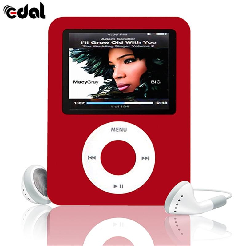 EDAL Mini Portable <font><b>MP3</b></font> Player 8GB