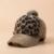 Novo Design clássico Leopardo Boné de beisebol de peles Mulheres Moda Inverno Chapéus para Mulheres Chapéu de Golfe Polo
