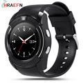 V8 Smart Watch reloj inteligente with Camera Bluetooth Sync Notifier SmartWatch wearable devices For IOS Android PK GT08 GD19