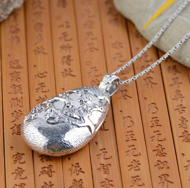Wang Yinshi style rétro antique cerf en argent en gros floraison femelle creux style cadeau