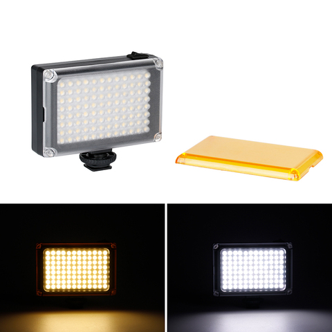 Ulanzi 96 LED on-Camera Mini Video Panel Photo Light with 2500mAh Battery/Filters Set for Canon Nikon Sony DSLR Camcorders Lahore