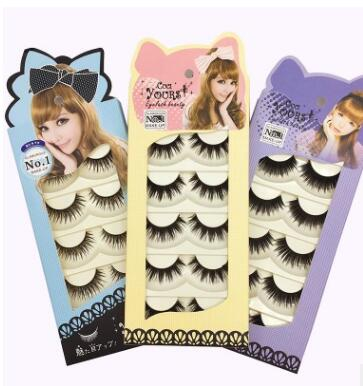 CUCI YOURS Natural thick Long hair False Eyelashes Cross party Fake Eye Lashes Extensions Makeup Tool high quality