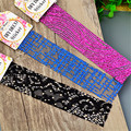 1 Sheet Adhesive 3D Lace Sticker Textile Decals Manicure Nail Art Decoration