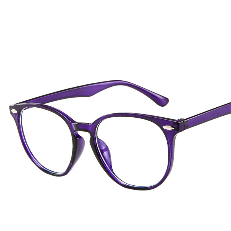 Light Weight Women Spectacle Optical Frame Glasses Clear Lens Lady Vintage Computer Anti-Radiation Eyeglasses Outdoor 30LY24 (4)