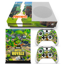 30% off Fortress Ontwerp Decal Skins Sticker Voor Microsoft Xbox Een Slim Console(China)