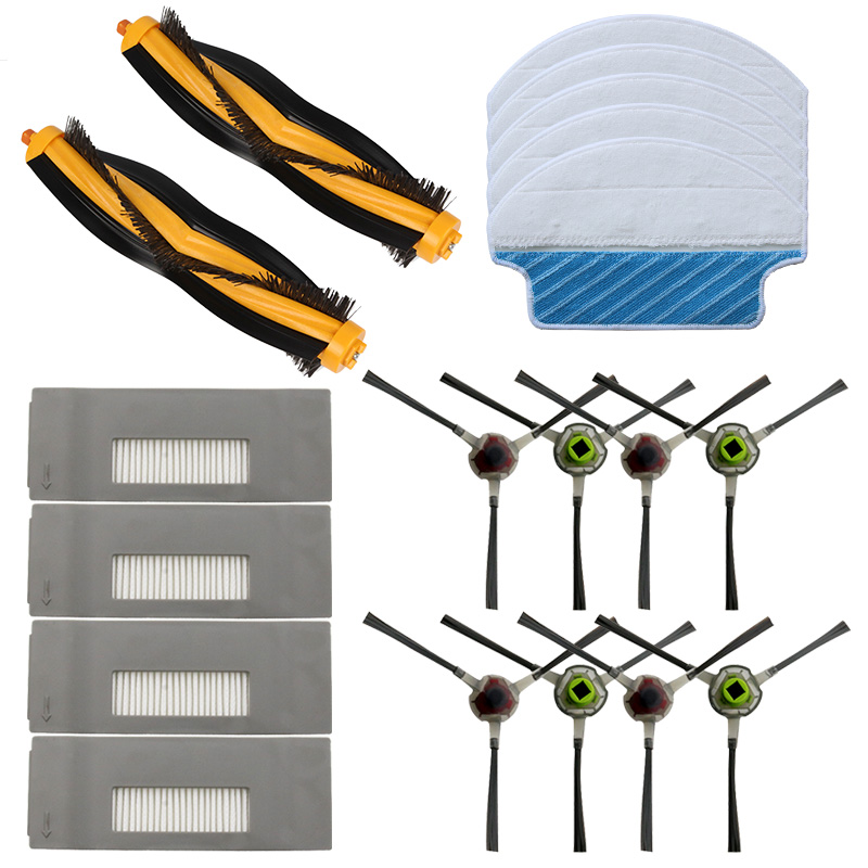23-PACK main filter brush cleaning pad for <font><b>Ecovacs</b></font> <font><b>DEEBOT</b></font> M80 Pro DT85 DT83 <font><b>DM81</b></font> DM85 vacuum cleaner accessories image