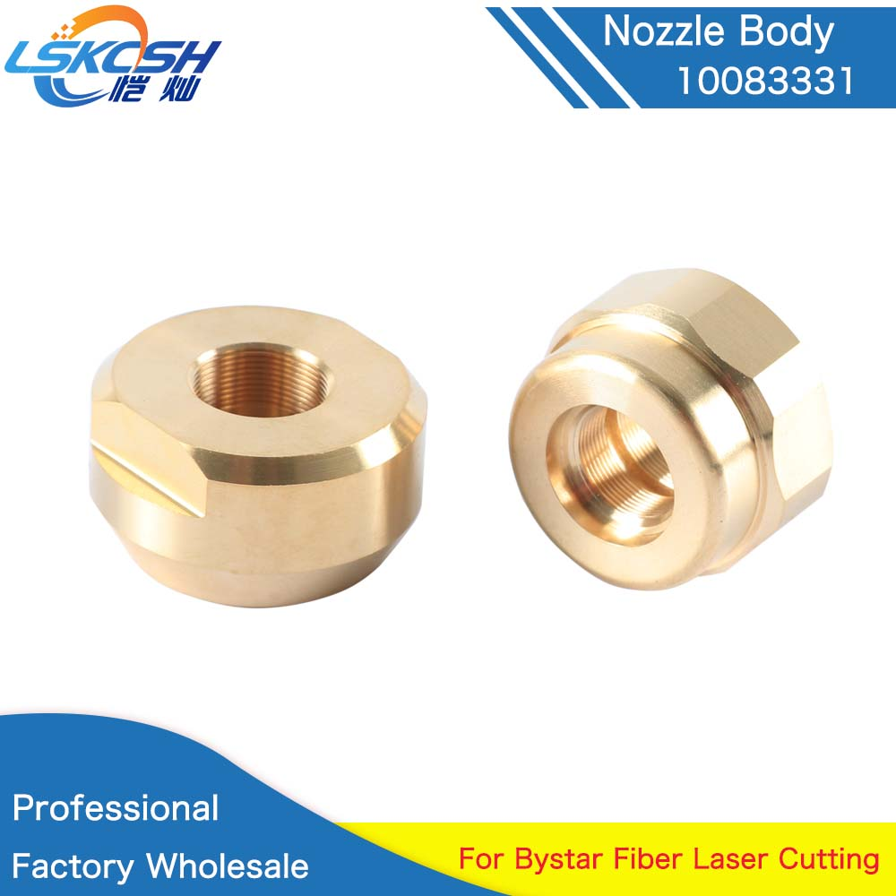 LSKCSH High Quality Laser nozzle holder 10083331 copper housing adaptor machine replacement parts & accessories Professional