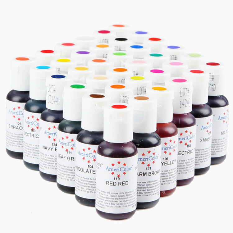 US $9.98 |1 Bottle America Edible Cream Baking Pigment Food Coloring  Fondant Cake Coloring Paste Kitchen Accessories Ice Cream Pigment-in Baking  & ...