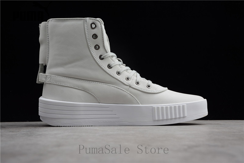 Puma XO Parallel The Weeknd Mens Sneaker 365039 01 White Color High ... b4a892e06