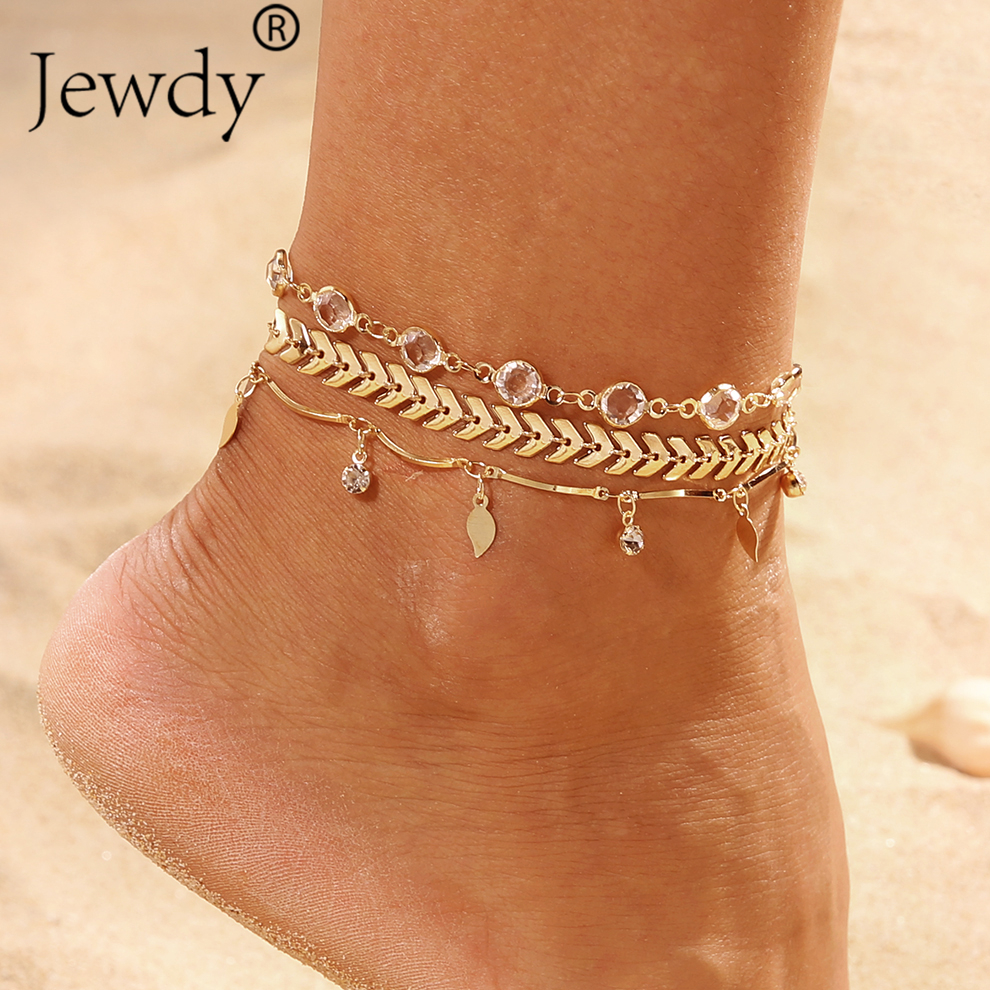 Detail Feedback Questions about 3PCS SET Crystal Star Female Anklets  Barefoot Crochet Sandals Foot Jewelry New Anklets Foot Ankle Bracelets For  Women Leg ... f353333917a4