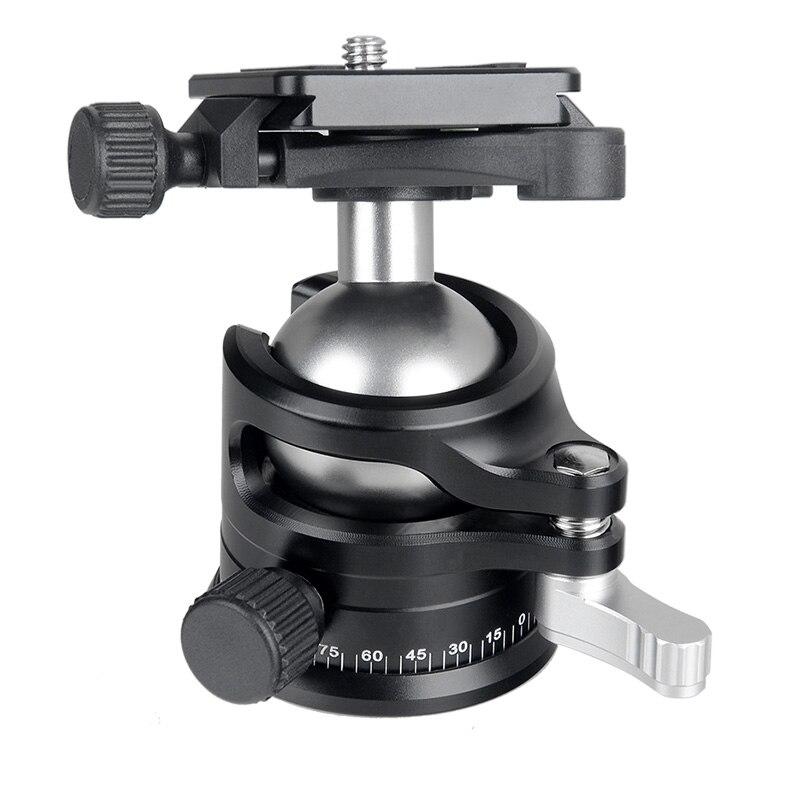 GIZOMOS GP-23C5 + GHA-30D Professionnel Portable Trépied En Fiber De Carbone et Rotule Pour Canon Sony Nikon - 3