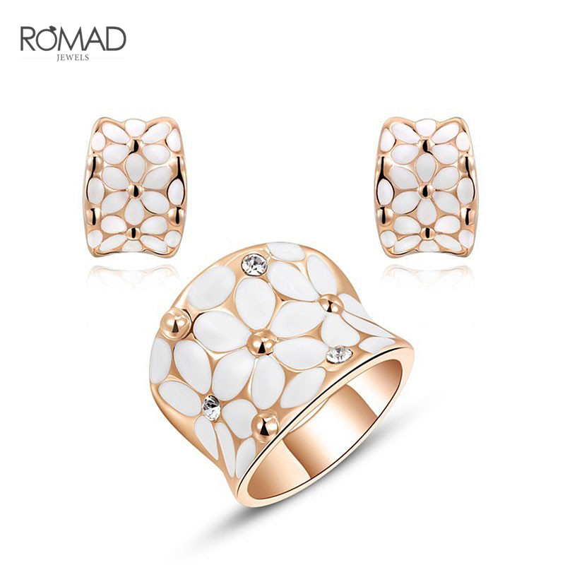 GS Stainless Jewell Vaths Rings Jewells Set for Women Top Jewel Jewel Woman Crystal Austri Pendientes Mujer Moda 2018 G4