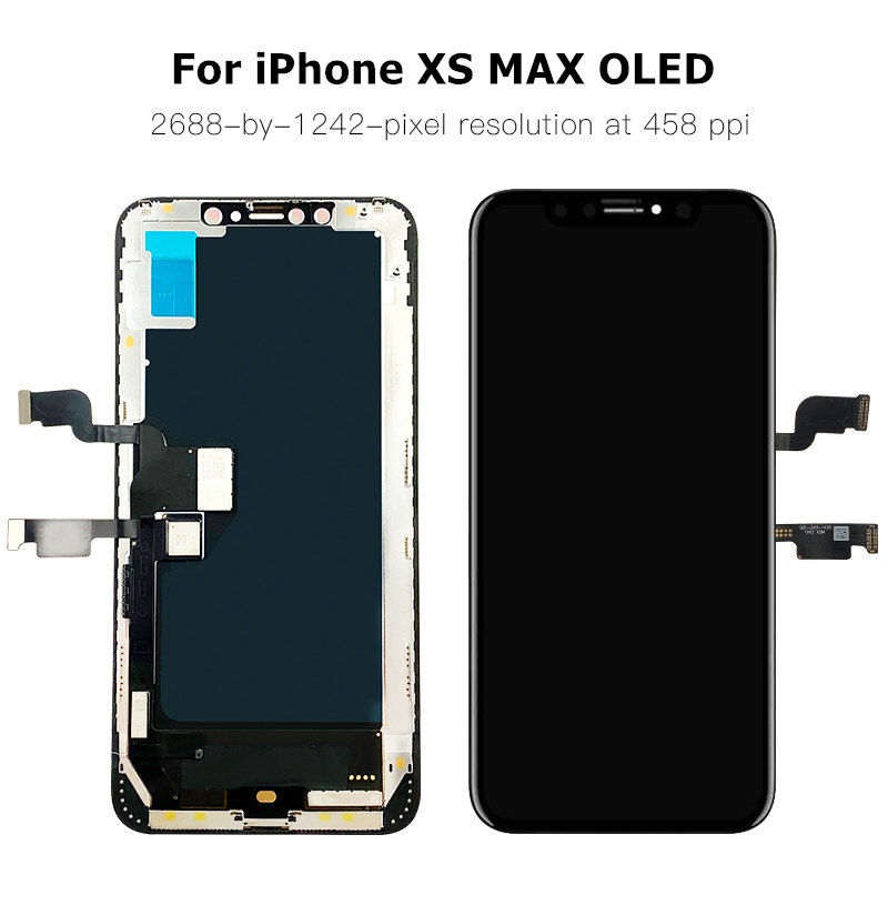 AAA+++ For iPhone X XR XS OLED Screen XS MAX Replacement OEM LCD Display With 3D Touch Assembly No Dead Pixel Brand New