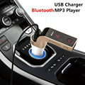 High Quality Auto Car Bluetooth FM Transmitter With TF/USB Flash Drives MP3 WMA Music Player SD and USB Charger for iPhone iPad