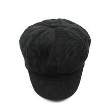 Newsboy Caps Unisex Solid Warm Autumn Winter Fashion Painter Cap