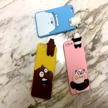 for Huawei P9 Plus Cover 3D Cute Cartoon We Bare Bears brothers funny toys soft phone case Lite cover