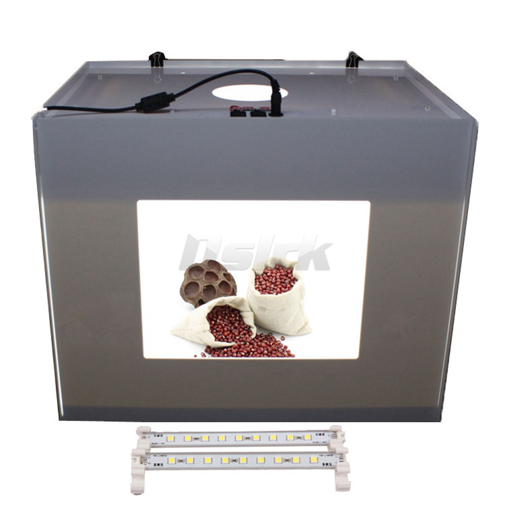 ASHANKS Softbox LED 3PS Light Box Portable Photo Studio Photography Tent  Photo Box  MK50 D50 110V- 240V  For Luz Fotografia ashanks small photography studio kit