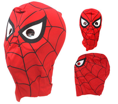 free shipping Adult Spider-Man Spider Man mask Spiderman hood for adult or child