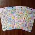 Venta al por menor 3D Pegatinas de Burbuja Del Bebé Hoja de Burbuja de la Historieta Pegatinas Niños niños Niñas DIY Juguete Lindo Pegatinas en Relieve Regalo de Los Niños Juguetes XQ20
