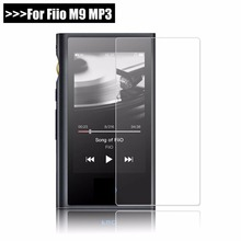 9 H Премиум Защитный закаленное стекло для fiio M9 M 9 MP3 царапинам Экран протектор Передняя пленка для fiio M9 3,2 «Чехол