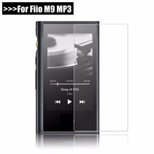 "9H Premium Protective Tempered GLass For fiio M9 M 9 MP3 scratch-Proof Screen Protector Front Film For fiio M9 3.2"" Case(China)"