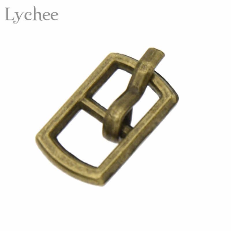Lychee 20 adet 4.5mm Mini Bebek Düğmeleri Metal Toka DIY Bebek Elbise Patchwork Tokaları El Yapımı Zanaat Dikiş Aksesuarları