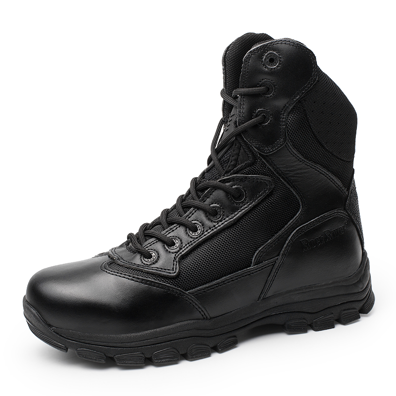 New Genuine Leather Anti-piercing Special forces  Tactical Boots Men Desert Boots Shoots Jungle Outdoor Hiking Boots Men new outdoor hiking boots special forces tactical boots men s desert combat boots size 39 40 41 42 43 44 45