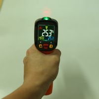 PM6530 Non contact Handheld Laser Infrared Thermometer LCD Display Digital Themperature Meter Pyrometer IR Laser Point Gun